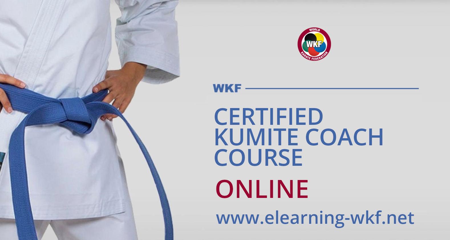 WKF Certified Kumite Coach Course